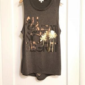 MOVING SALE! Workout Tanktop With Cut-outs